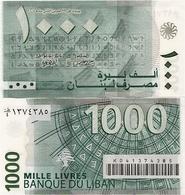 LEBANON       1000 Livres       P-84a       2004       UNC - Libano