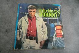 Disque De Johnny Hallyday - D'ou Viens Tu Johnny - Philips Médium B 76.245 R - Rock