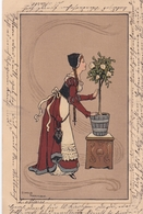 Liberty - La Pianta Di Gardenia  -  Ill.  Parkinson E.  -  Edit.  B. Dondorf & C°. - Parkinson, Ethel