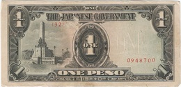 Filipinas (Ocupación Japonesa) - Philippines 1 Peso 1943 Pk 109 A.3.1 Sello Ref 18 - Philippines