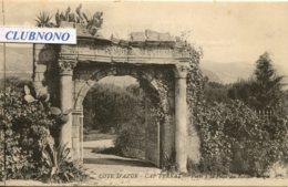 CPA - CAP FERRAT - PORTE A LA VILLA DU ROI DES BELGES (IMPECCABLE) - Saint-Jean-Cap-Ferrat