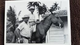 CPM CHEVAL HORSE SERIE I CUBA VA GUAJIROS PHOTO RAOUL ARROCHE 1990 ED ICAP - Chevaux