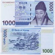 SOUTH KOREA      1000 Won       P-54a       ND (2006)      UNC - Korea, South