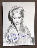 Musica Lirica - Autografo Della Cantante Fiorella Pediconi - 1980 Ca. - Autografi