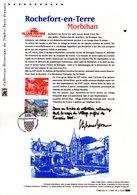 """"""" ROCHEFORT-EN-TERRE """" Sur Document Philatélique Officiel De 2017. N° YT 5155. Parf état. DPO - FDC"""