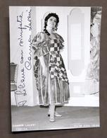Musica Lirica - Autografo Del Soprano Carmen Lavani - Anni '70 - Autografi