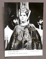 Musica Lirica - Autografo Del Soprano Yasuko Hayashi - 1985 - Autografi