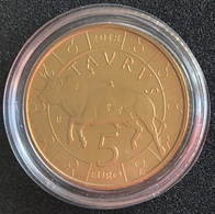 San Marino 2018 5 Euro - Taurus Zodiac Coin - San Marino