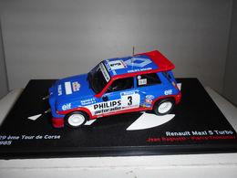 RENAULT 5 MAXI TURBO #3 TOUR DE CORSE 1985 RAGNOTTI THIMONIER IXO ALTAYA 1/43 - Rally