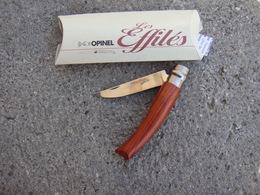 Opinel   Effilés Lame 8cm Neuf - Art Populaire