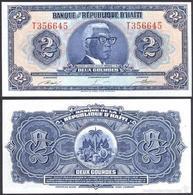 HAITI 2 GOURDES L. 1979. PICK 231A. TYVEK - POLYMER. UNC CONDITION - Haïti