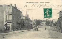 43 - CRAPONNE SUR ARZON - HAUTE LOIRE - AVENUE DE LA PRAIRIE - CPA ANIMEE - VOIR SCANS - Craponne Sur Arzon