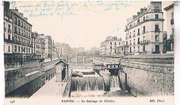 44 NANTES    LE BARAGE  DE L ERDRE      LA430 - Nantes