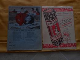 Lot De 2 Protège Cahiers- Le Pot De Terre Et Le Pot De Fer Lemainque- Chicorée Leroux - Book Covers