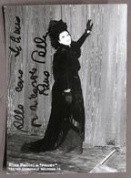 Musica Lirica - Autografo Del Mezzosoprano Rina Pallini - 1975 Ca. - Autografi