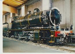 C.P. - LOCOMOTIVE 140-344 - ETAT - 1917 - MUSÉE FRANÇAIS DU CHEMIN DE FER - MULHOUSE - L. PILLOUX - LA CIGOGNE - Eisenbahnen