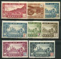 Senegal (1943) N 179 à 186 * (charniere) - Sénégal (1887-1944)
