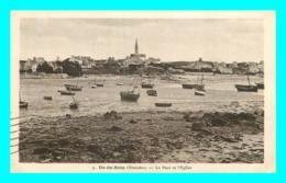 A760 / 133 29 - ILE DE BATZ Port Et Eglise - Ile-de-Batz
