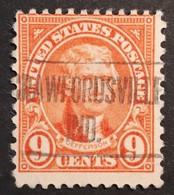 Usa – Scott #641 – Precancel Crawfordsville, Indiana (1927) - United States