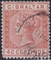 Gibraltar    .   SG     .     27       .       O      .      Cancelled        .   /    .  Gebruikt - Gibraltar