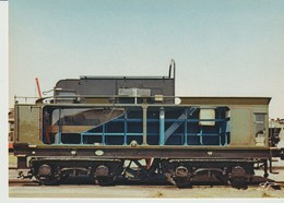 C.P. - TENDER A ÉCOPE 3-22-C-306 - ETAT - 1920 - MUSÉE FRANÇAIS DU CHEMIN DE FER - MULHOUSE - LA CIGOGNE - Eisenbahnen