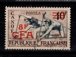 Reunion - CFA YV 314 Obliteré Canoe - Usados