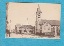 Villeneuve-Triage ( Val-de-Marne ). - Place De L'Église. - ( Villeneuve-Saint-Georges ). - Villeneuve Saint Georges