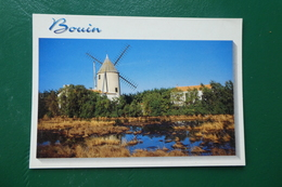 Bouin (vendée ) Le Moulin - France