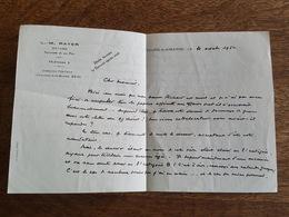 Tours Sur Marne 1954 - L. - M. Rayer Notaire - 1950 - ...