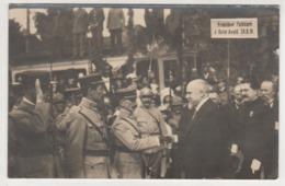° 57 ° SAINT AVOLD ° PRESIDENT POINCARE Le 24 Août 1919 ° Carte Photo ° - Saint-Avold