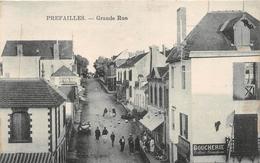 """¤¤  -   PREFAILLES    -    Grande Rue   -  Boucherie """" Tellier - Grandjean """"     -  ¤¤ - Préfailles"""