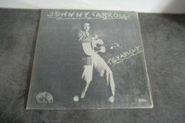 Disque 33 Tours De Johnny Carroll - Texabilly - Rollin' Rock LP 014 - 1978 - Rock