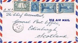 32639. Carta Aerea VANCOUVER (Canada) 1948. Service O.H.M.S. General Post Office - 1937-1952 Reinado De George VI