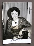 Musica Lirica - Autografo Del Soprano Rosetta Pizzo - 1980 Ca. - Autografi
