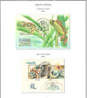 Sud Africa PO 2000 Anno Del Dragone S/s   Scott.1170.+See Scan On Scott.Page; - África Del Sur (1961-...)