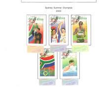 Sud Africa PO 2000 Summer Olimp.Sydney    Scott.1160/1164.+See Scan On Scott.Page; - África Del Sur (1961-...)