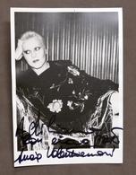 Musica Lirica - Autografo Del Mezzosoprano Lucia Valentini Terrani - 1980 Ca. - Autografi