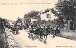 ¤¤  -   PREFAILLES En Fête   -  La Cavalcade Route De Quirouard   -  Attelage    -  ¤¤ - Préfailles
