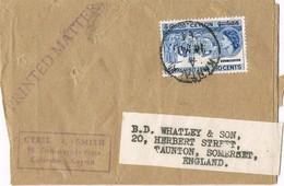 32642. Faja Publicacion Printed Matter KANTALA (Ceylon) 1964 To England - Sri Lanka (Ceilán) (1948-...)