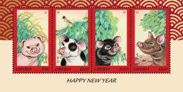 Liberia  2019  New Year Of Pig  I201901 - Liberia