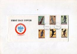 AUSTRALIA(HUTT RIVER PROVINCE) 1981 FDC With LIZARDS.BARGAIN.!! - Andere