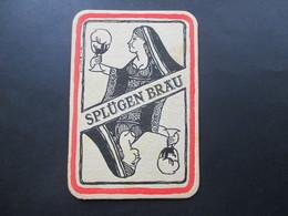 AK / Werbepostkarte Bierdeckel Splügen Bräu E'Il Nome Della Birra Florenz / Bier / Alkohol 1970 - Werbepostkarten