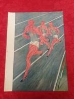 Atletica Sport Aligi SASSU Illustratore Arte Ventennio Xilografia Xilografie - Ex Libris