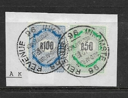 South Africa, 1978 - 98, R50, R100,  Revenue, Used On Fragment - South Africa (1961-...)