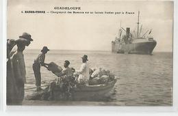 Guadeloupe Basse Terre Chargement Des Bananes Sur Un Bateau Fruitier Pour La France 1931 éditée L'exposition Coloniale - Commerce