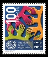 Switzerland (BIT) 2019 Mih. 111 Centenary Of International Labour Organization MNH ** - Oficial