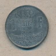 België/Belgique 1 Fr Leopold III 1945 Vl/Fr Morin 482 (703266) - 04. 1 Franc
