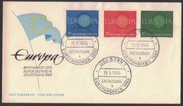 IN44    Germany 1960 FDC Europa CEPT - Europa-CEPT