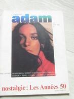 Adam Nr 2 .. Septembre 1966 .. Marie Laforêt .. Alpine 1300 - Gente
