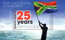 South Africa - 2019 25 Years Democracy MS (**) - Briefmarken